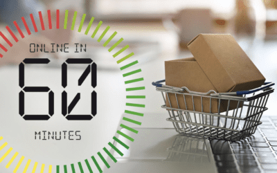 How to start selling online in 60 minutes or less